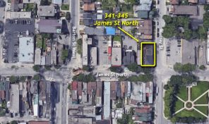 341-345 James Street North, Hamilton, ON